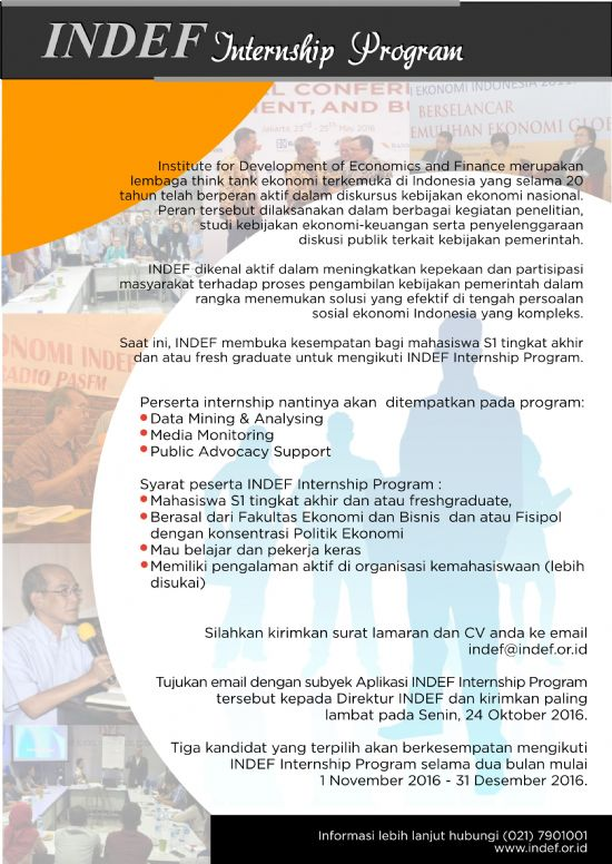 INDEF Internship Program