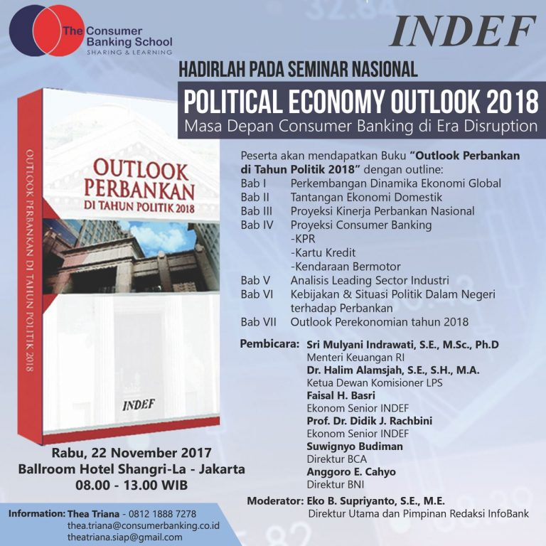 Seminar Nasional Political Economy Outlook 2018
