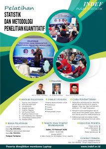 Pelatihan dan Metodologi Penelitian Kuantitatif
